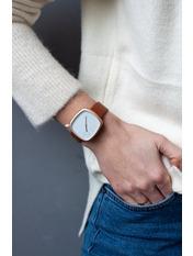 Женские часы Доминик Длина 23(см)/Ширина 1.7(см) Коричневый