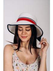 Шляпа слауч Савина Белый 56 Белый