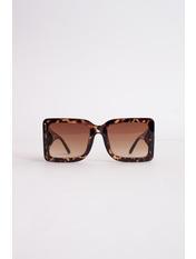 Солнцезащитные очки К122 Коричневый с принтом Коричневый