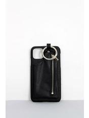 Чехол для iPhone Брелок 7-8 Черный Черный