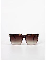 Сонцезахисні окуляри В0764 Коричневый Коричневый с принтом