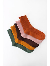 Носочки Джен упаковка Разноцветный Разноцветный  36-39