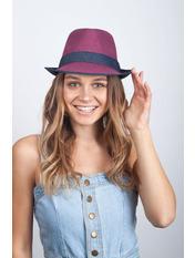 Шляпа челентанка Пинанг Фиолетовый Фиолетовый 54-56