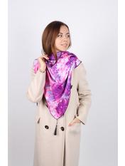 Платок Блез 74*155 Фиолетовый Фуксия