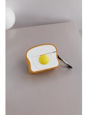 Чехол для наушников Apple Омлет  one size Белый Белый