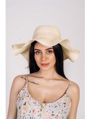 Шляпа широкополая Кассандра Молочный 56 Молочный