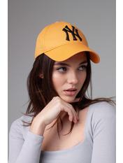 Бейсболка NewYork 55-56 Горчичный Горчично-черный