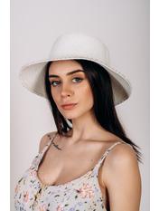 Шляпа слауч Робин Белый 58 Белый
