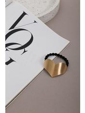 Резинка для волосся REZ-21002 Золотистый Длина 4(см)/ Диаметр 17(см)
