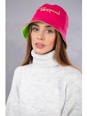 Панама PN-Resp_0200-11 Красный Зеленый 56-57 Розовый Малиново-салатовый