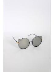 Солнцезащитные детские очки SS1955 Общая ширина 12.3(см)/ Высота линзы 5.3(см)/ Ширина линзы 5.3(см) Серебристый Зеркальный