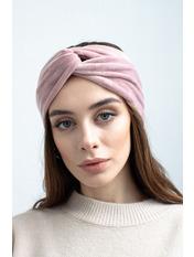 Повязка на голову Аиша one size Розовый Темно-пудровый