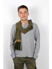 Чоловічий шарф Кастор 160*30 Зелений Зелений