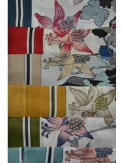 Платок Лорет Красный Разные цвета