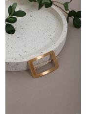 Заколка Мэдди Золотистый Длина 6(см)/ Ширина 4(см) Золотистый