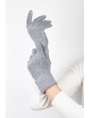 Женские перчатки Герда one size Серый Серый