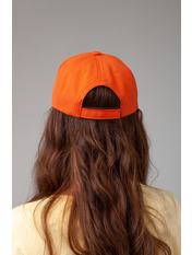 Бейсболка BK-5069 Оранжевый Оранжево-белый 57-58