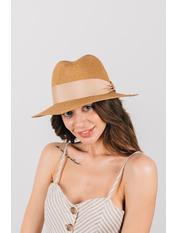 Шляпа федора Адель Капучино Капучиновый 54-56