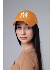 Бейсболка NewYork Горчично-белый 55-56 Горчичный