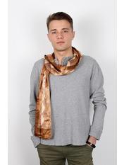 Чоловічий шарф Полукс 166*27 Капучино Капучиновий