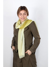 Шарф Меланья 150*50 Зеленый Салатовый