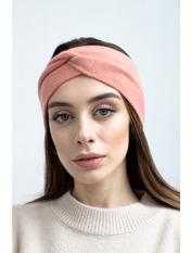 Повязка на голову Виардо one size Розовый Персиковый