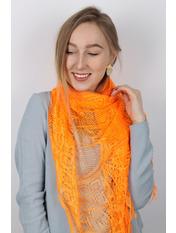 Шарф C-978 Оранжевый Ярко-оранжевый