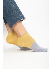 Носочки Терил Фиолетовый Лиловый+желтый 36-39