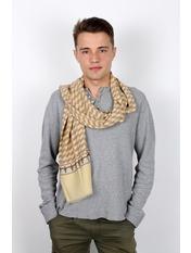 Чоловічий шарф Кастор 160*30 Бежевий Бежевий