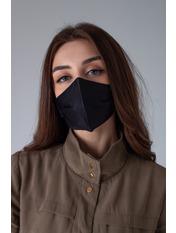 Маска защитная для лица Линда  21*13 Черный