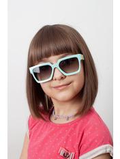 Солнцезащитные детские очки 2032 12,5*4,3 Зеленый Салатовый