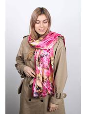 Шарф Линда 170*76 Розовый Ярко-розовый