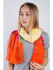Шарф Глория 160*50 Оранжевый Оранжевый