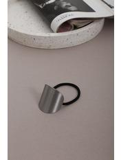 Резинка Айрис Серебристый Длина 6(см)/ Диаметр 14(см) Серебристый
