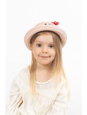 Детская шляпа SHL-4000 Розовый 51 Пудровый