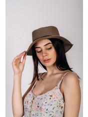 Шляпа канотье SHL-1800 Коричневый