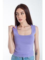 Топ FUT-5806 Фиолетовый Светло-лиловый one size