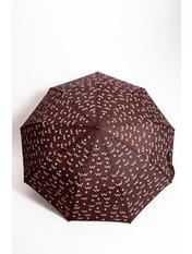 Женский зонт PK-7766 Коричневый