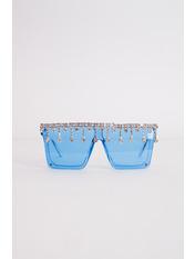 Солнцезащитные очки К1913 В 14*5,5 Голубой