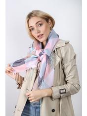 Платок #1902 100*100 Розовый Пудровый