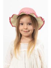 Детская шляпа SHL-3991 Розовый 49 Темно-розовый