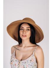 Шляпа широкополая Хелен Бежевый 56 Песочный