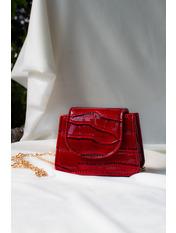 Сумка женская SYM-857 12*9*6 Красный