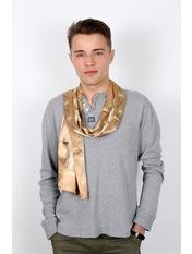 Чоловічий шарф Полукс 166*27 Бежевий Бежевий