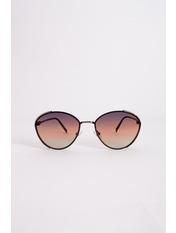 Очки солнцезащитные 50528 14*5 Черный Черный+розовый