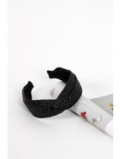Обруч Шарон Длина 45(см)/ Ширина 5(см) Черный Черный