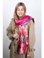 Шарф Линда 170*76 Розовый Малиновый
