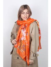 Шарф Олексина 174*67 Оранжевый