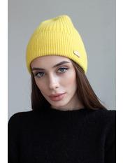Шапка SHP-1759 Желтый Лимонный