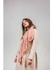Платок Джорет 92*92 Розовый Розовый